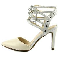 Bar III Womens Janet Pointed Toe SlingBack D-orsay Pumps