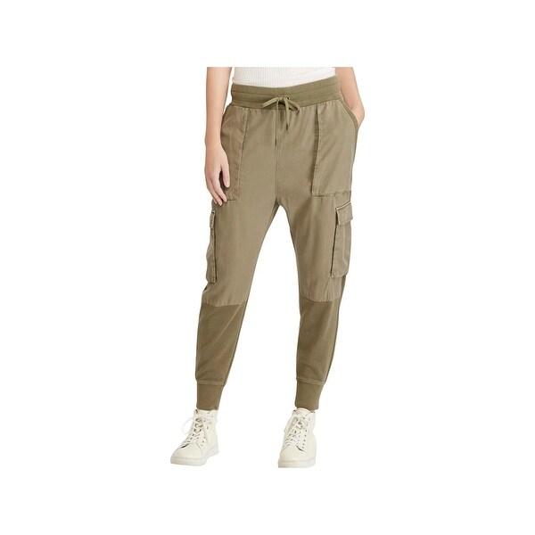 64241fddcfc015 Shop Polo Ralph Lauren Womens Jogger Pants Cargo Mixed Media - XS ...