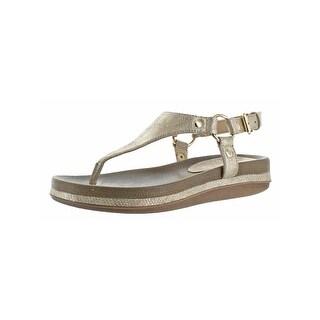 Volatile Womens Aura Thong Sandals Open Toe Slingback