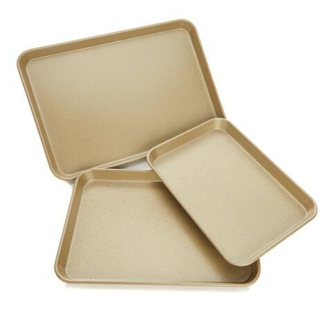Curtis Stone Dura-Bake® Nonstick 3-piece Sheet Pan Set