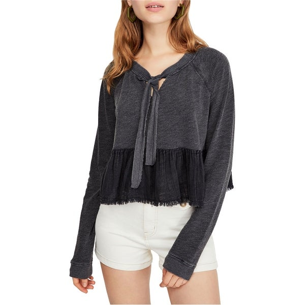 Free People Womens Sweet Jane Sweatshirt. Opens flyout.