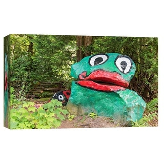 "PTM Images 9-102207  PTM Canvas Collection 8"" x 10"" - ""Duck Monument"" Giclee Forests Art Print on Canvas"