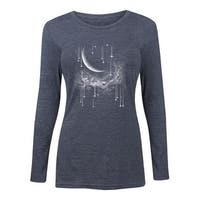 Falling Stars - Ladies Long Sleeve Tee