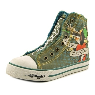 Ed Hardy Kids HIGHRISE   Round Toe Canvas  Sneakers