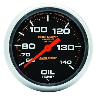 Auto Meter 5441 Pro-Comp Liquid-Filled Mechanical Oil Temper