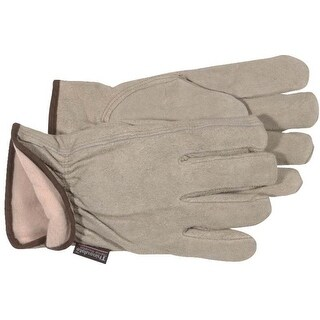 Boss 7179J Thin Lined Split Leather Gloves, X-Large