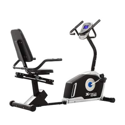XTERRA Fitness SB150 Black Recumbent Bike