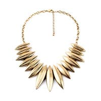 Gold Statement On Highness Tribal Necklace