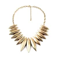 Gold Statement On Highness Tribal Necklace - N/A