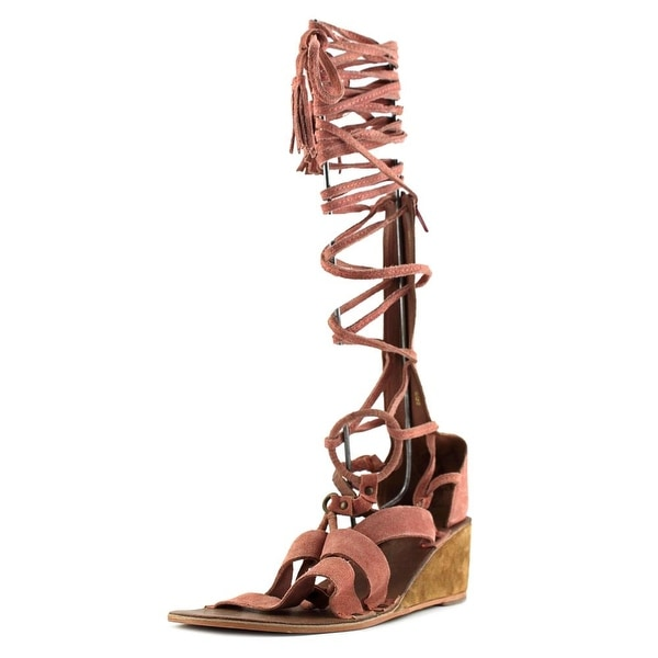 Free People Saltarello Women Open Toe Leather Gladiator Sandal