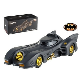 1989 Movie Batmobile Elite Edition 1/43 Diecast Model Car by Hotwheels