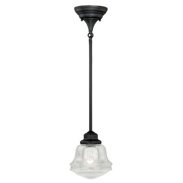 Vaxcel Lighting P0153 Huntley 1 Light Single Pendant - Oil Rubbed bronze
