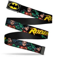 Batman Fcg Black Yellow Chrome Robin Red Green Poses Black Webbing Web Web Belt