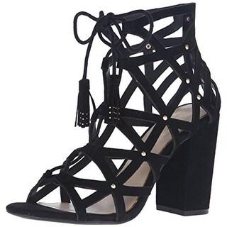 Jessica Simpson Womens Kariba Dress Sandals Suede - 5.5 medium (b,m)