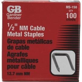 """Gardner Bender 100Pk 1/2"""" Metal Staple"""