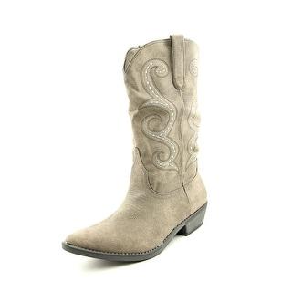 American Rag Dawnn Women Pointed Toe Synthetic Gray Western Boot