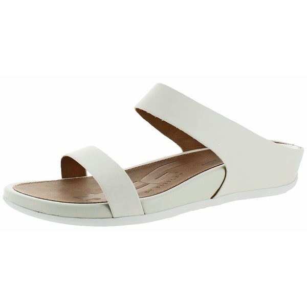 FitFlop Women's Banda Casual Slide Sandal Leather