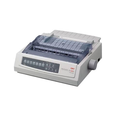 Okidata 62415401 microline 320 turbo - workgroup - monochrome - dot-matrix - 435 cps(super draft) - White