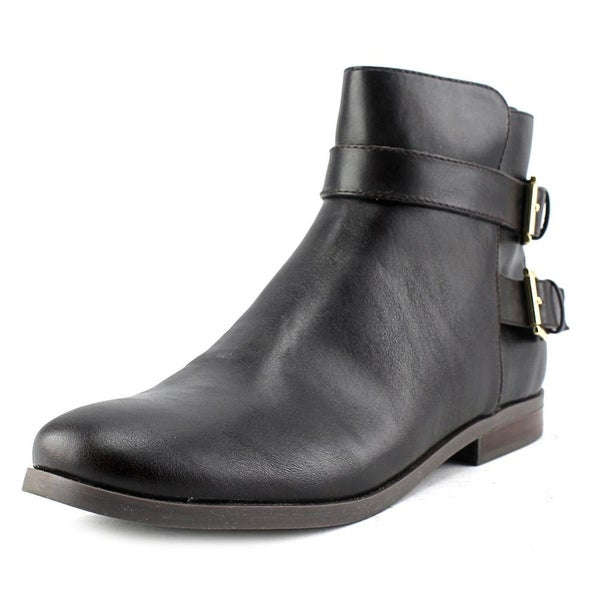 Tommy Hilfiger Julie 3 Women Round Toe Synthetic Brown Ankle Boot