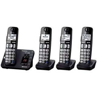 Refurbished Panasonic KX-TG454SK 4 Handset DECT 6.0 Plus Cordless Phone