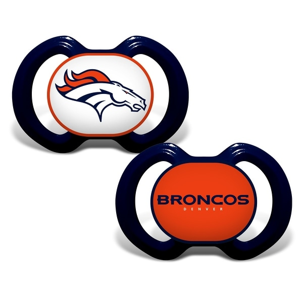 Denver Broncos Pacifier 2 Pk
