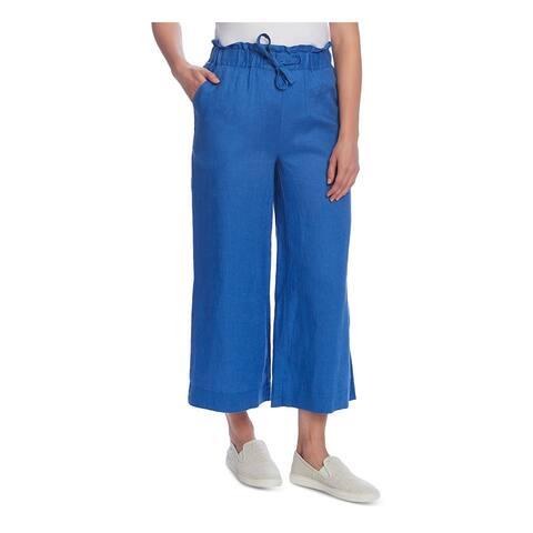VINCE CAMUTO Womens Blue Wide Leg Pants Size XS