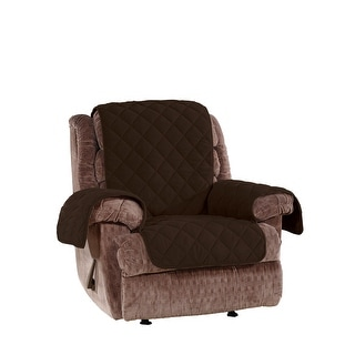 Link to Sure Fit Deluxe Non Skid Waterproof Recliner Furniture Cover Similar Items in Slipcovers & Furniture Covers