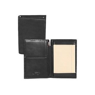 Scully Western Jotter Soft Plonge Leather Side Pocket