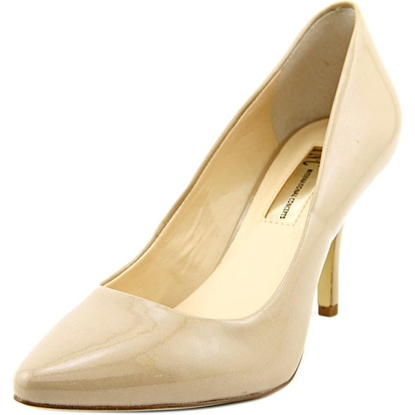 INC International Concepts Zitah Women Pointed Toe Synthetic Nude Heels