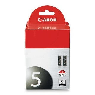 Canon Computer Systems - 0628B009 - Pgi 5Bk Twin Pack