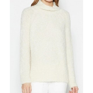 Joie NEW White Ivory Women's Size Medium M Turtleneck Aneko Sweater