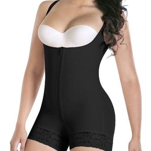 4ab73cb7d0 STYLEDOME Women Sexy Lift Butt Full Body Shaper Underbust Corset Shoulder  Strap Shapewear