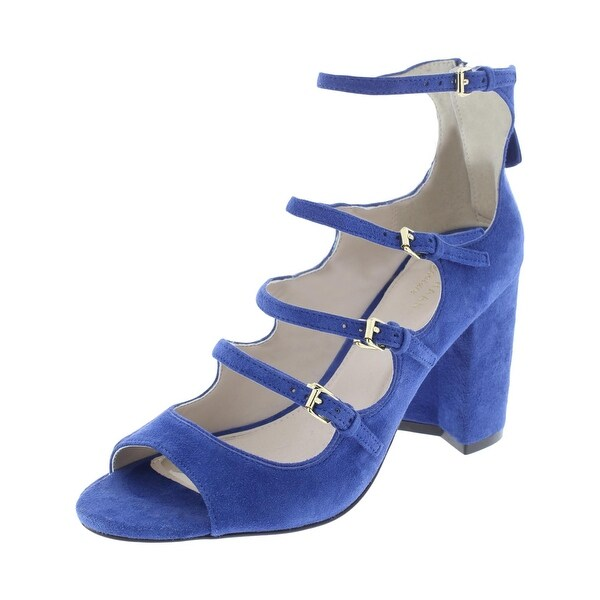 73253bd70a8d Shop Cole Haan Womens Cielo Strappy Sandals Faux Suede Peep Toe ...