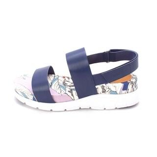 Cole Haan Womens Sandrasam Open Toe Casual Platform Sandals