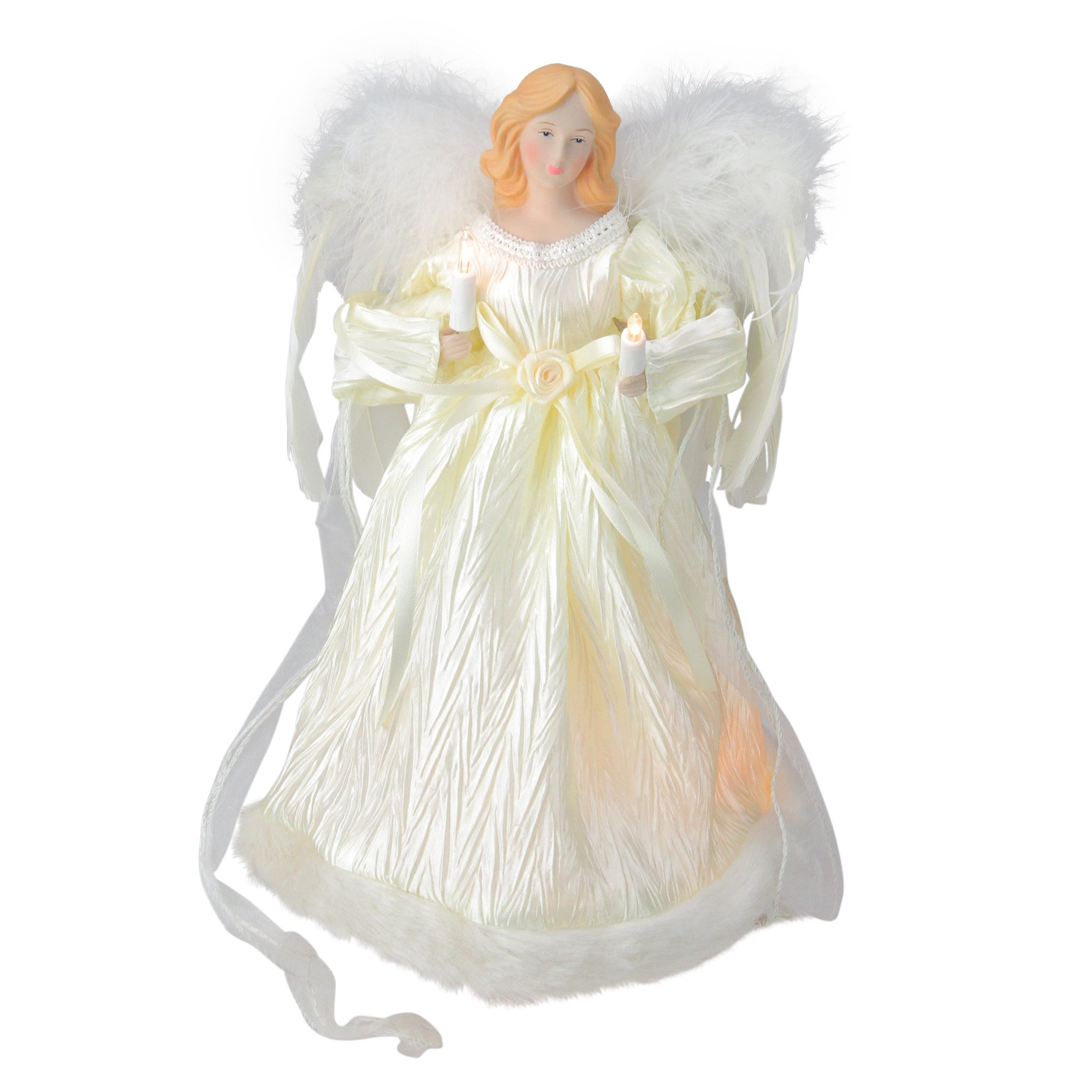 Lighted Angel Christmas Tree Topper