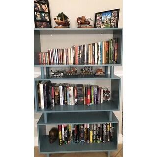 Simple Living Margo Mid-Century 3-shelf Bookshelf