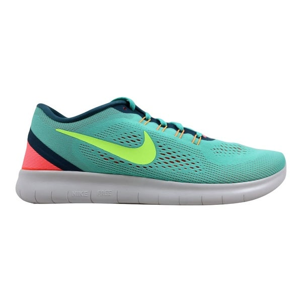 da5f8434e519 Shop Nike Free RN Hyper Turquoise Ghost Green 831509-302 Women s ...