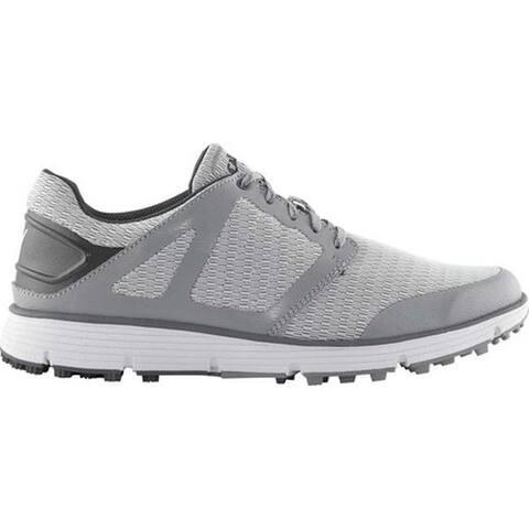 Callaway Men's Balboa Vent 2.0 Golf Shoe Light Grey Mesh