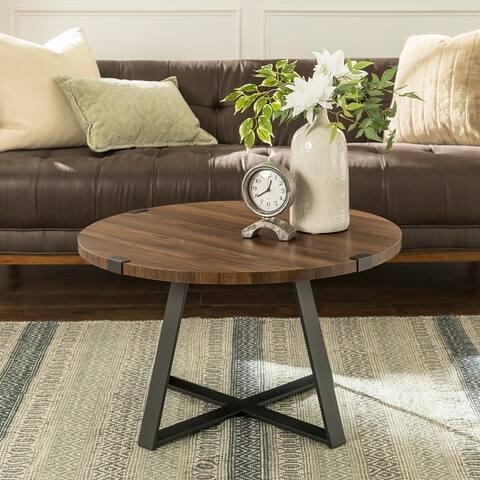 Carbon Loft Barnett 31-inch Round Coffee Table