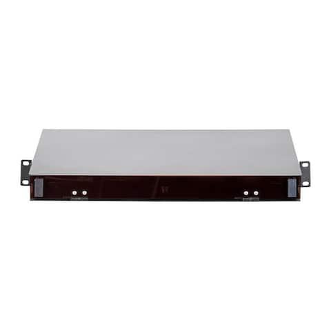 Monoprice High Density Fiber Optic Patch Panel - 19in