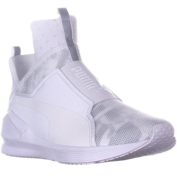 Shop Puma Fierce Swan High Top Slip On Sneakers a56dda6a9