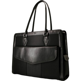 Mobile Edge megn1l Mobile Edge Geneva Computer Handbag (Large) - Top-loading - Black