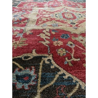 Safavieh Mahal Traditional Grandeur Red/ Red Rug - 9' X 12'