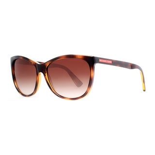 MICHAEL KORS Butterfly MK 6024 Women's 300613 Havana Brown Brown Gradient Sunglasses - 58mm-15mm-135mm
