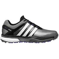 Adidas Men's Adipower Boost Dark Silver Metallic/Running White/Night Flash Golf Shoes Q46922 / Q44633