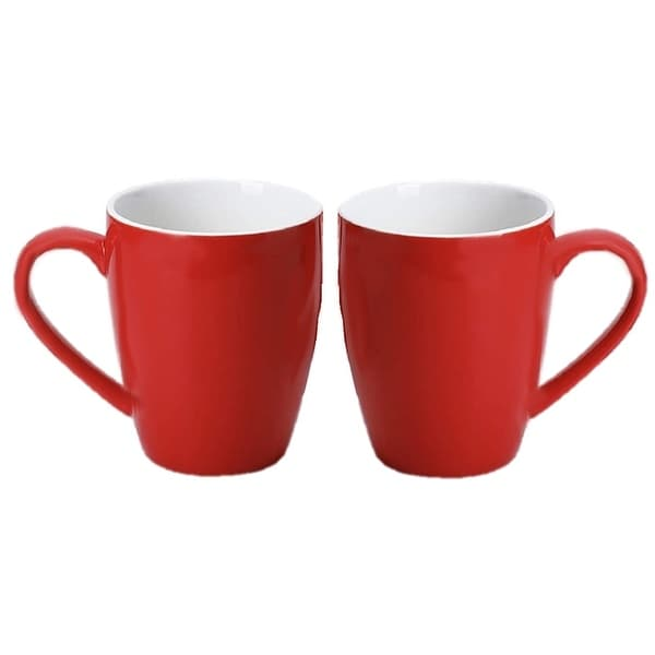 Homvare Porcelain Coffee Mug, Tea Cup, 10 oz - 2-Pack. Opens flyout.