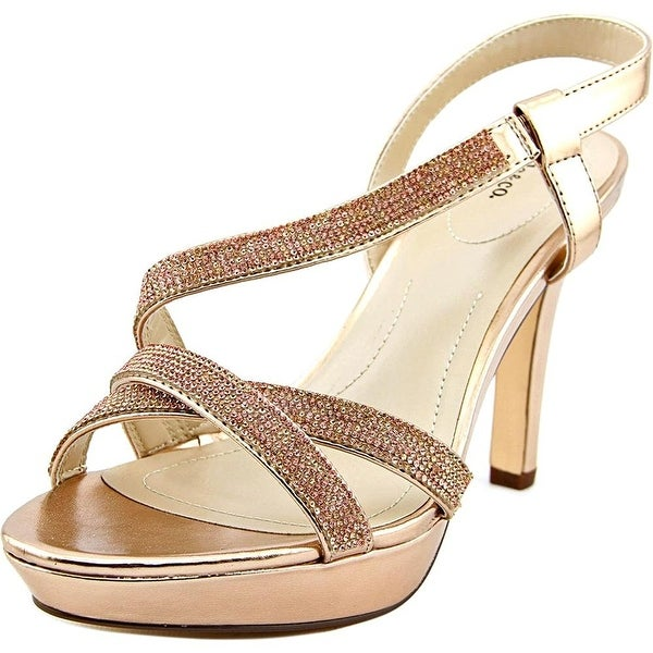 Style & Co. Womens Sandrah Open Toe SlingBack Platform Pumps