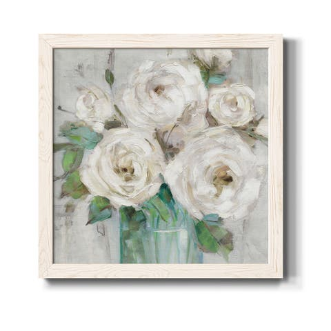 Cottage Whites-Premium Framed Print - Ready to Hang