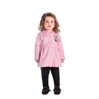 Baby Girl Pea Coat Newborn Winter Jacket Infant Sweater Pulla Bulla 3-12 Months