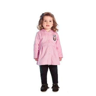 Baby Girl Pea Coat Newborn Winter Jacket Infant Sweater Pulla Bulla 3-12 Months